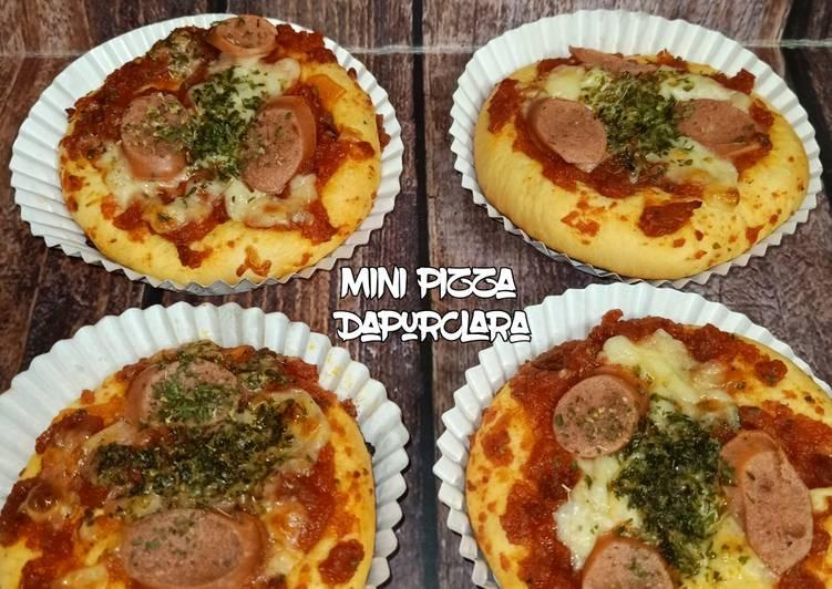 49. Pizza Mini & Roti Isi Coklat