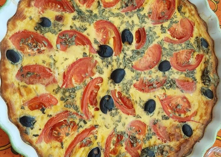 Comment Préparer Les Tarte à la provençale (sans pâte)