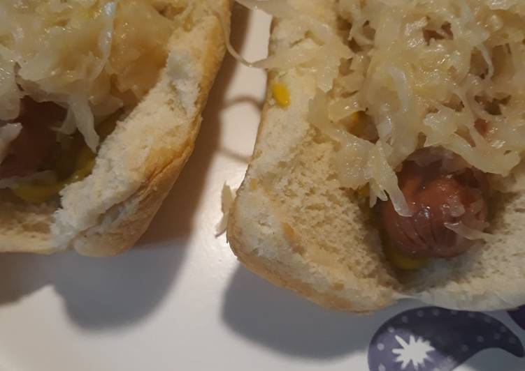 Recipe of Perfect Sauerkraut and Mustard Please