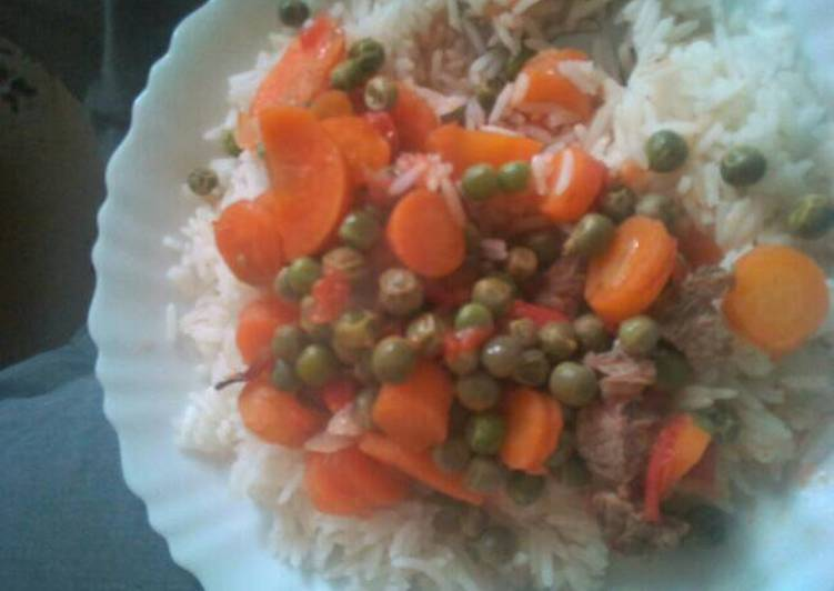 Your Overall Health Can Be Affected By The Foods You Choose To Consume Peas stew and rice