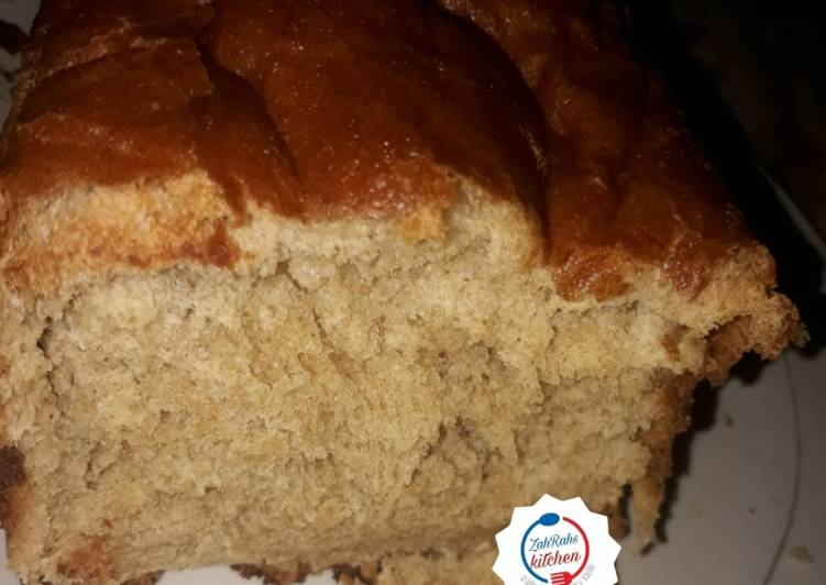 Steps to Prepare Homemade Whole Wheat bread