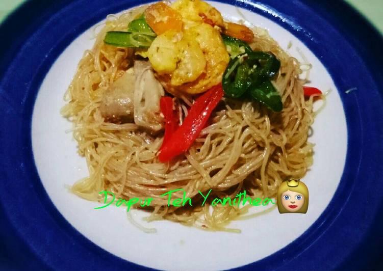 Sohun goreng mix udang  & sayuran