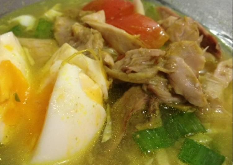 Resep Soto ayam mudah dan enak oleh Lucia - Cookpad