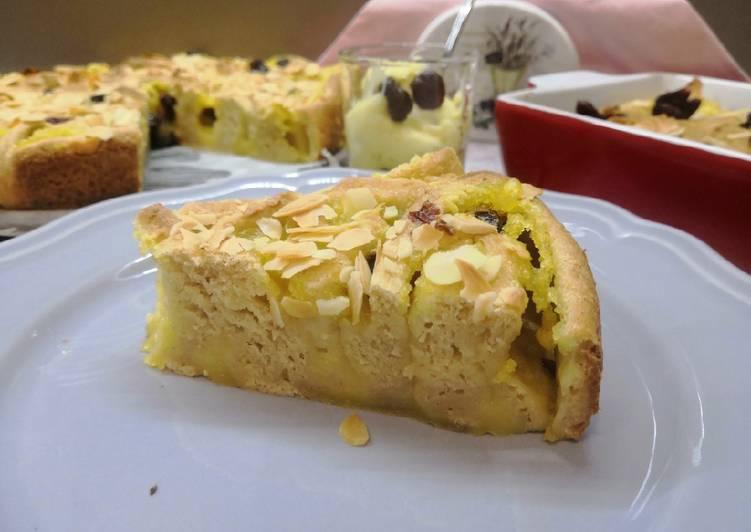 Glutén- és tejmentes vaníliás csiga (tortaformában is) recept foto