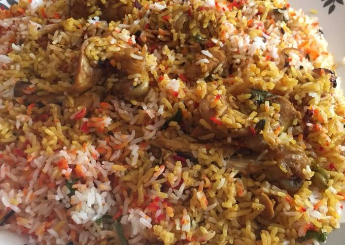 Recipe of Delicious Hyderabadi dum biryani