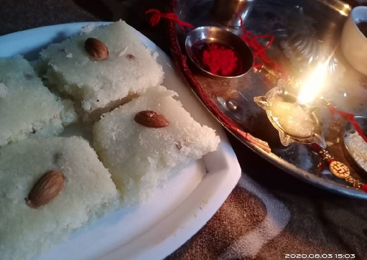 How to Boost Your Mood with Food Nariyal mithai
