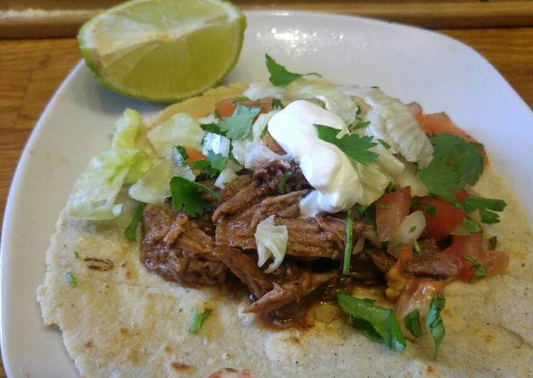 The Best Dinner Ideas Homemade Beef Barbacoa Tacos