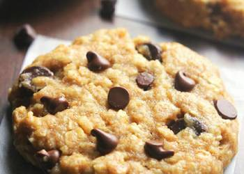 Easiest Way to Cook Delicious peanut butter cocolate chip oatmeal cookies