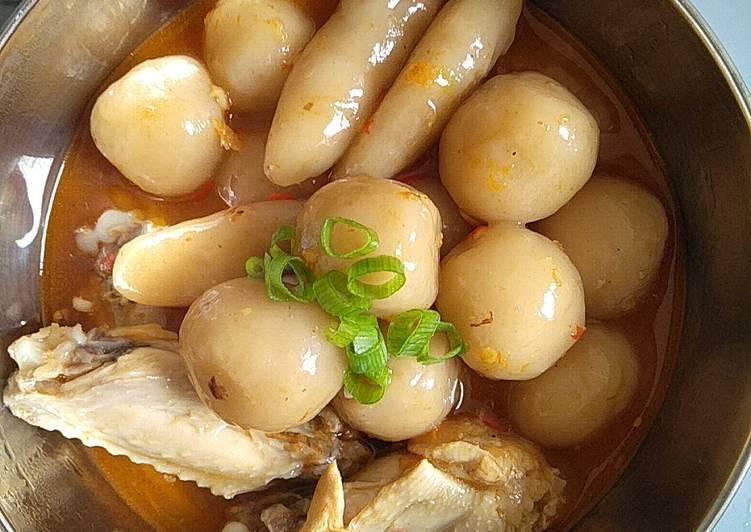 Cilok Goang Ayam Kuah
