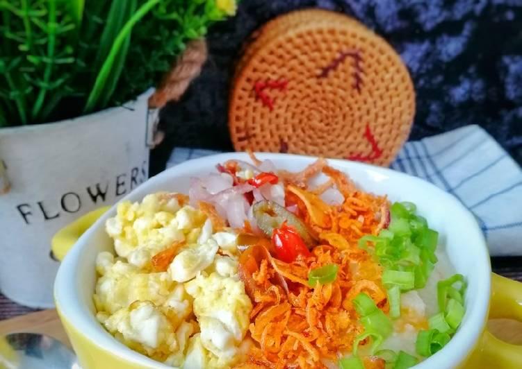 Bubur Nasi Paling Mudah - resepipouler.com