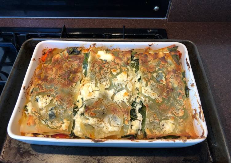 How to Make Top-Rated Butternut squash & spinach lasagna