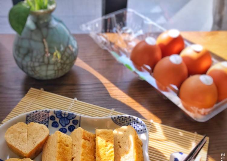 Resep Japanese tamagoyaki /telur dadar ala jepang Terenak