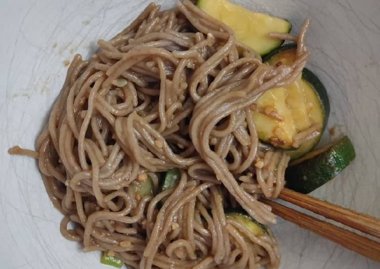 Use Food to Improve Your Mood Super Garlicky Soba Noodles