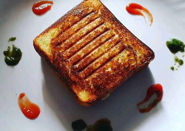 Recipe of Quick Veg grill sandwich