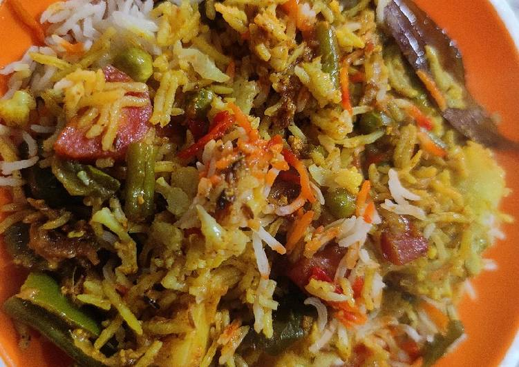 25 Minute Easiest Way to Make Fall Bombay Biryani