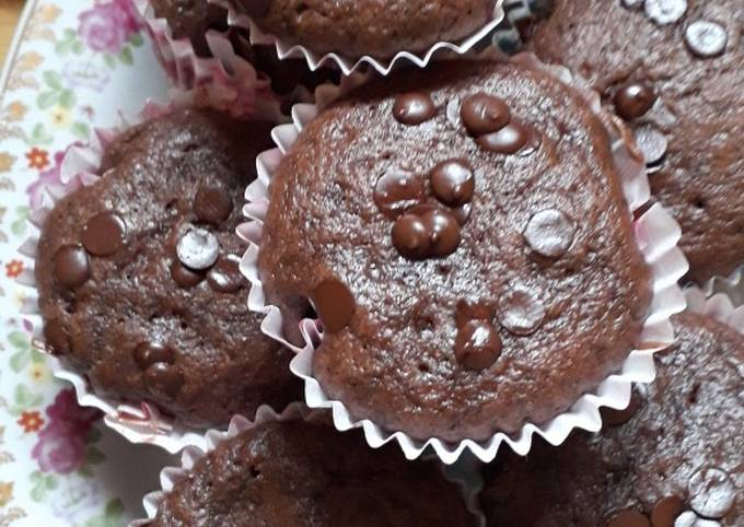 Cupcakes au chocolat Faciles et Rapides