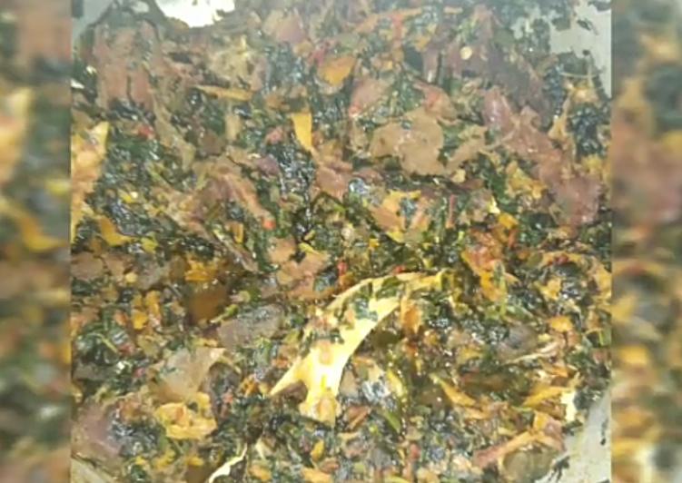 Edikang Ikong soup, Finding Nutritious Fast Food