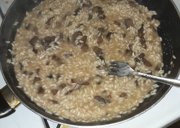 Recipe Of Delicious Mushroom Risotto Mysimplyrecipes