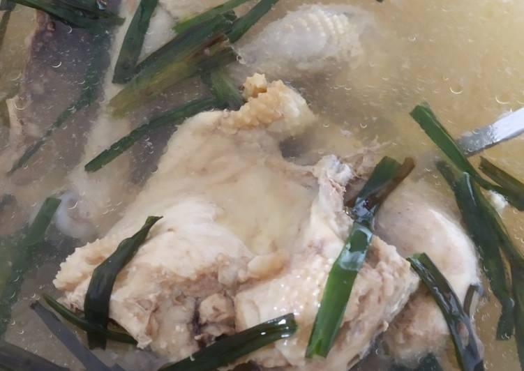 Soto Ayam Bening 3 Bahan