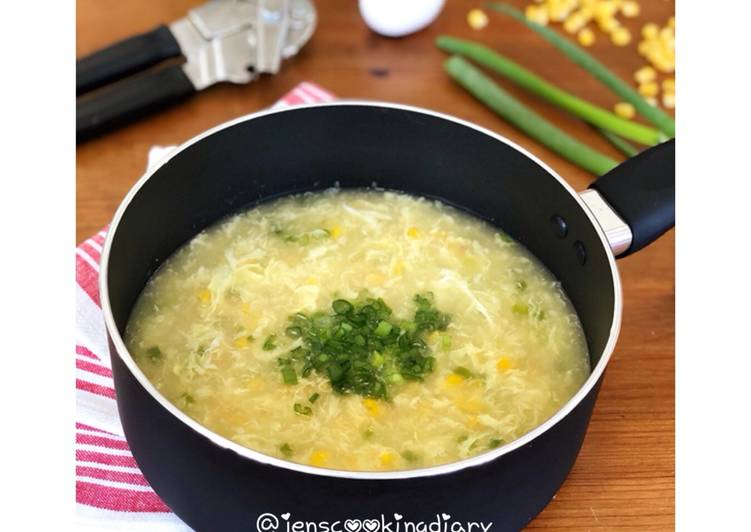 Sup Jagung Telur (Egg Drop Corn Soup)