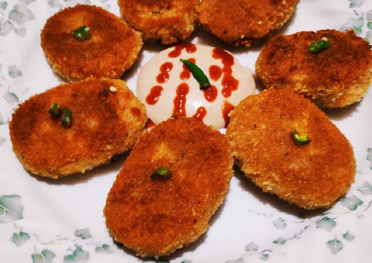What is Dinner Ideas Spring Poha aloo cutlets