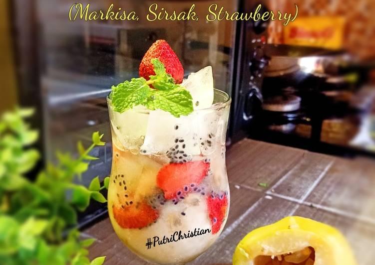 Es MarSirBer (markisa Sirsak Strawberry)