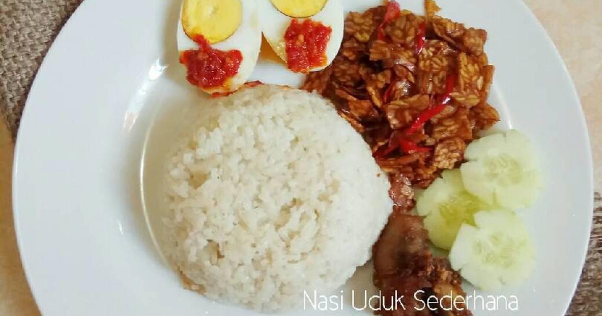 Resep Nasi Uduk Sederhana Ricecooker Oleh Virazsiregar Cookpad