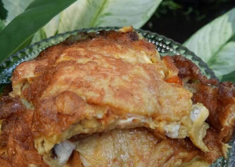 Omelet Tahu Sambal