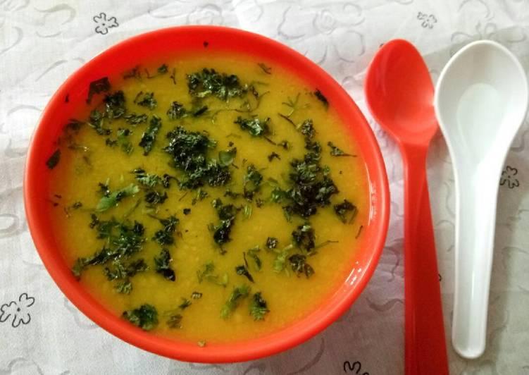 Mixed lentils soup