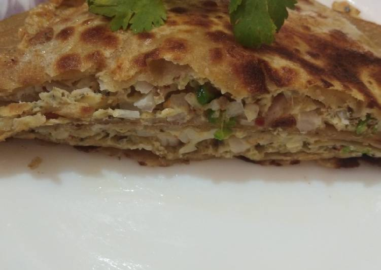 Step-by-Step Guide to Make Perfect Egg stuffed paratha