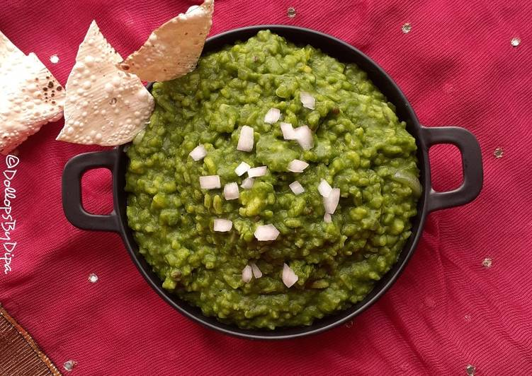 How to Prepare Favorite Spinach khichdi