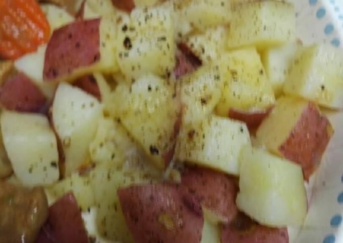 Native American Salt Potatoes