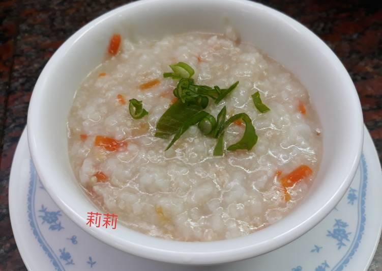 Bubur daging sapi 牛肉稀飯