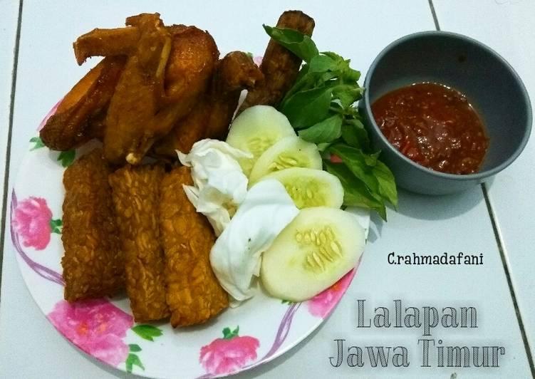 Lalapan Jawa Timur