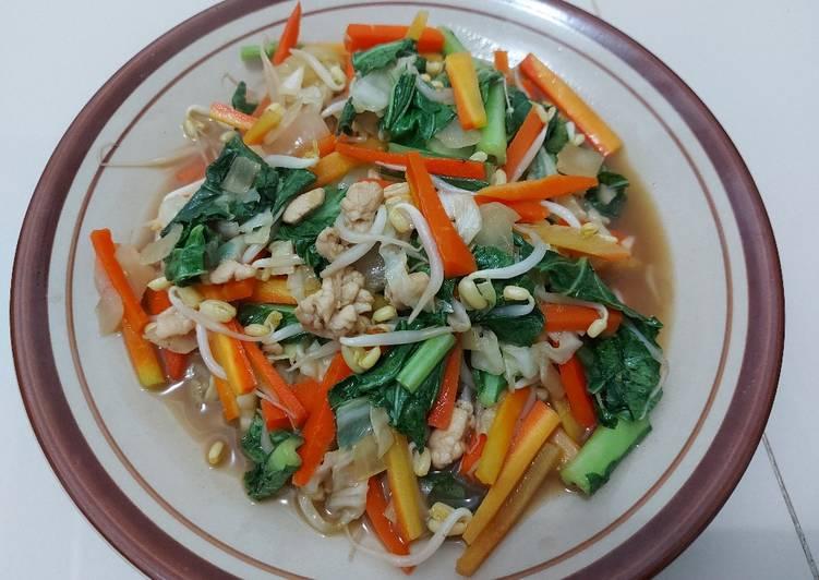 Langkah Mudah Untuk Menyiapkan Yasai Itame Tumis Sayur Jepang Yang Lezat Kreasi Masakan
