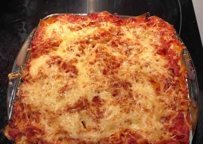 Lasagnes endives jambon