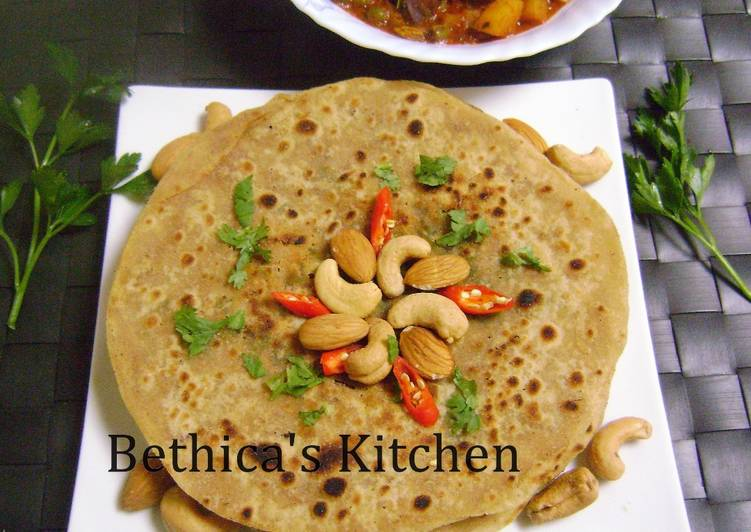 The Best Dinner Easy Super Quick Homemade Ramadan Special - Dry Fruits paratha