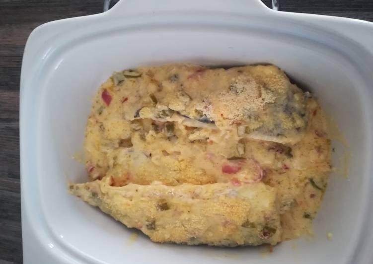 Creamy yummy buttered fish