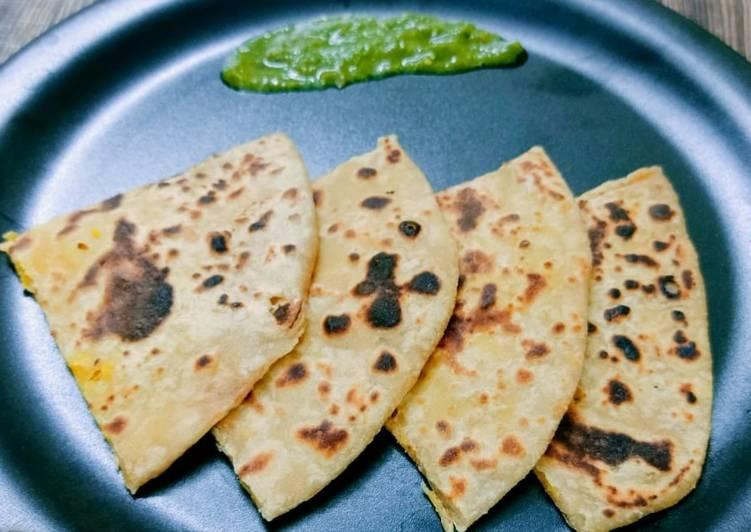 Grandmother's Dinner Ideas Super Quick Homemade Chana Dal Paratha