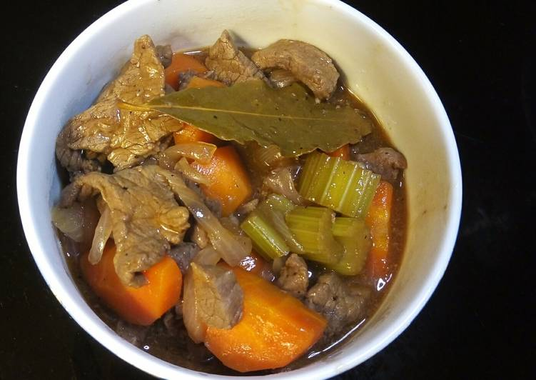 Barbecue Sauce Beef Stew