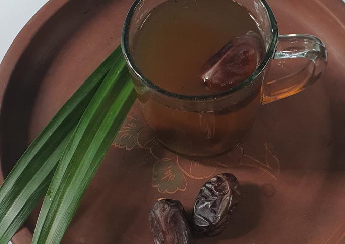 Wedang teh PaKur (Pandan kurma)
