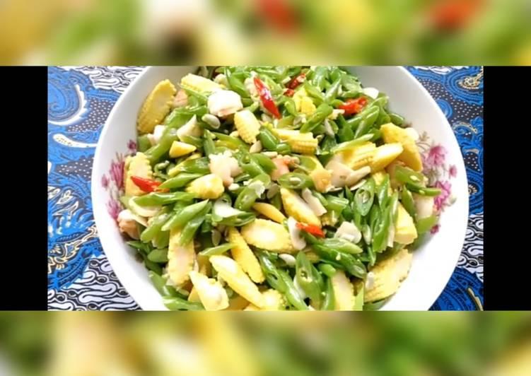 Sayur Buncis Baby Corn Sederhana