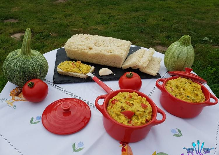 Tartinable de Courgettes