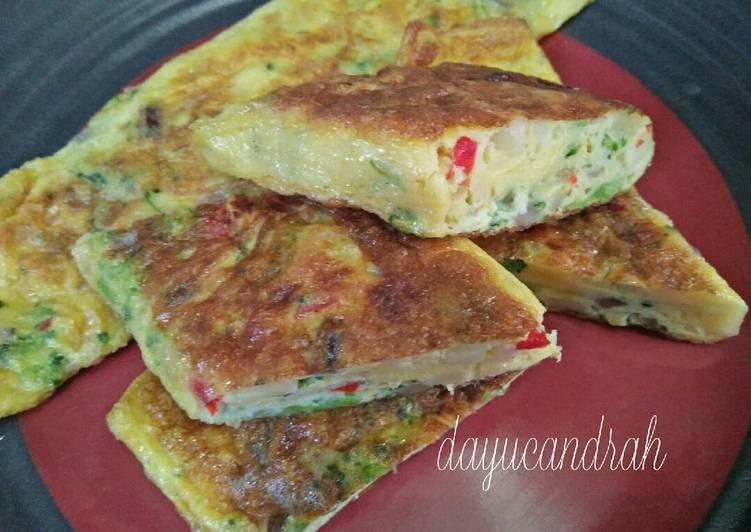 Resep Omelet Telur / Telur Dadar Yang Populer Enak
