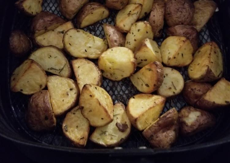 Easiest Way to Prepare Speedy Airfryer Roasted Potatoes