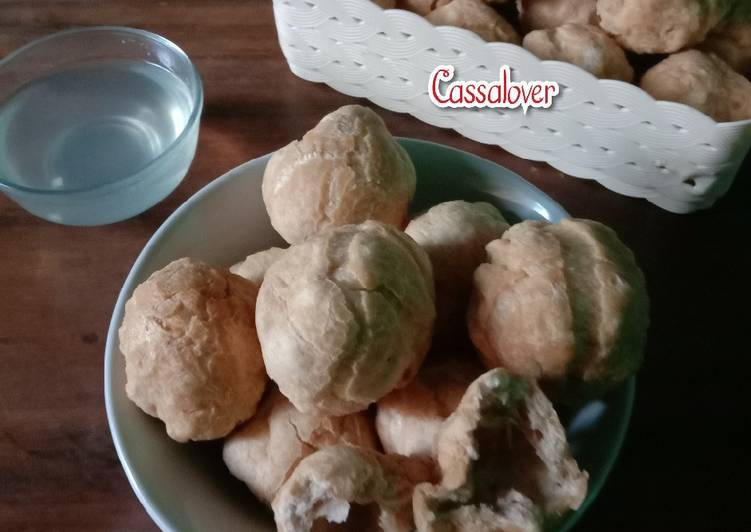 Chayen Udang (Bakso Goreng Udang)