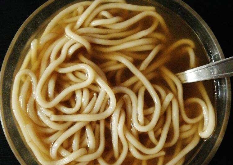 Recettes Soupe de nouilles ramen