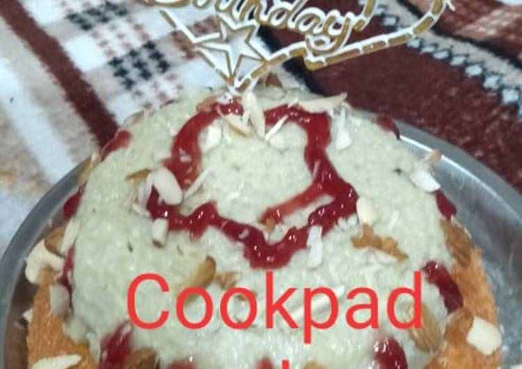 Double stand Cookpad Cake