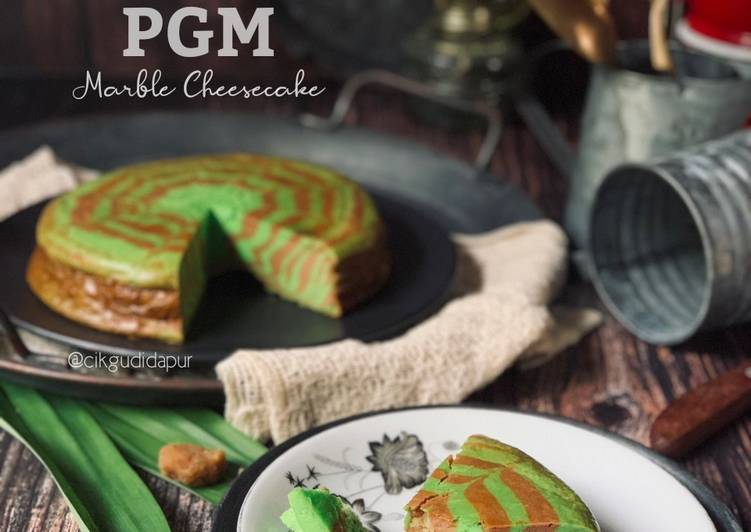 PGM Marble Cheesecake - resepipouler.com