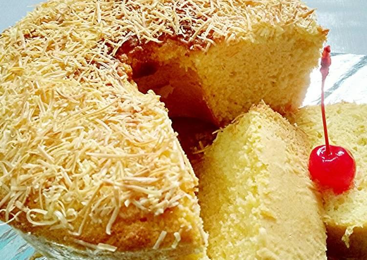 resep buat Bolu Keju Panggang Mantul - Sajian Dapur Bunda